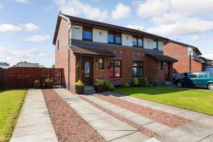 3 Bedrooms Semi Detached House for sale in Downcraig Road, Glasgow