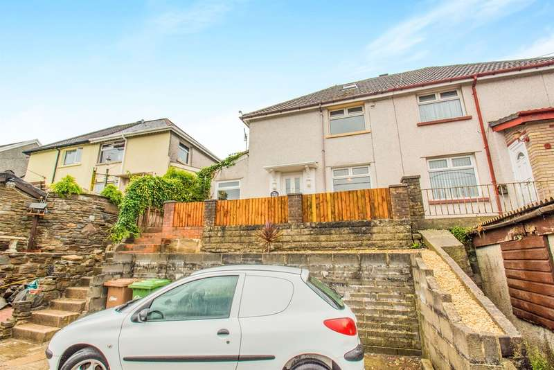 3 Bedrooms Semi Detached House for sale in Brett Road, Abercarn, Newport