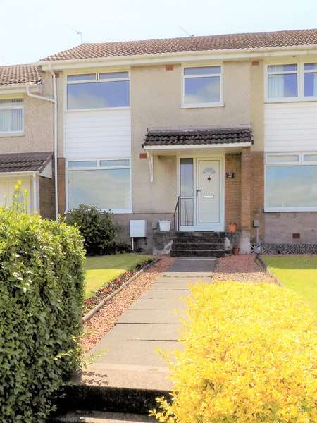 3 Bedrooms Terraced House for sale in Spencer Drive, Paisley, Renfrewshire, PA2