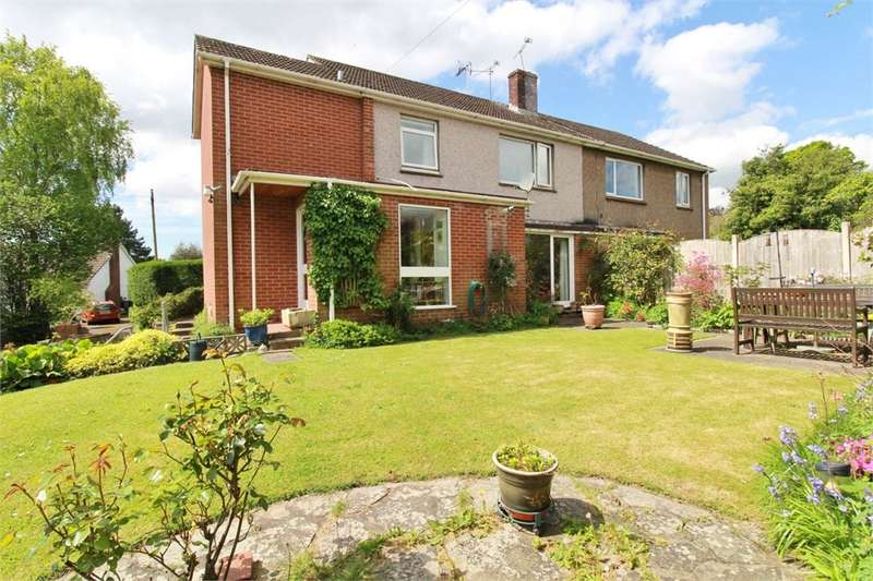 4 Bedrooms Semi Detached House for sale in Station Approach, Caerleon, Newport, NP18