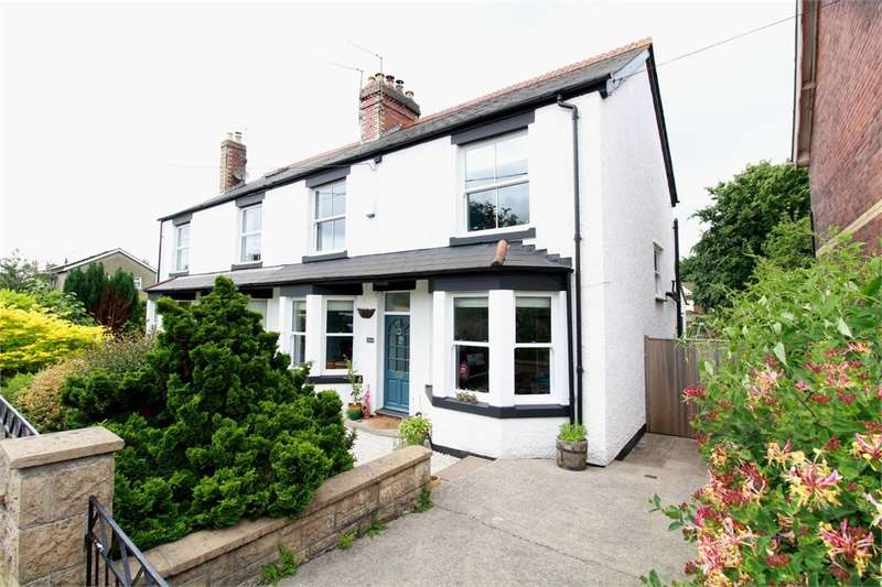 3 Bedrooms Semi Detached House for sale in Station Road, Ponthir, Newport, NP18