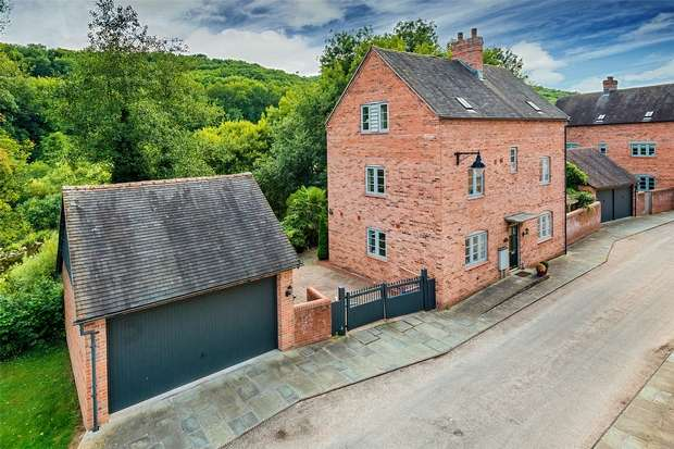 5 Bedrooms Detached House for sale in 44 Reynolds Wharf, Coalport, Shropshire