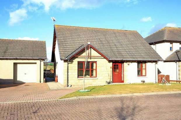 2 Bedrooms Detached Bungalow for sale in Cheves Circle, Longside, Peterhead, Aberdeenshire
