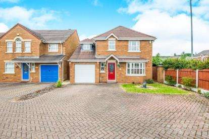 4 Bedrooms Detached House for sale in Keys Park Road, Cannock, Staffordshire, Wimblebury