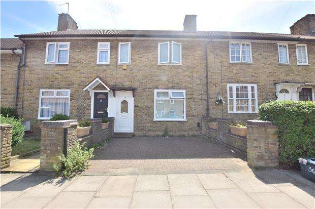 2 Bedrooms Terraced House for sale in Montacute Road, MORDEN, Surrey, SM4 6RL