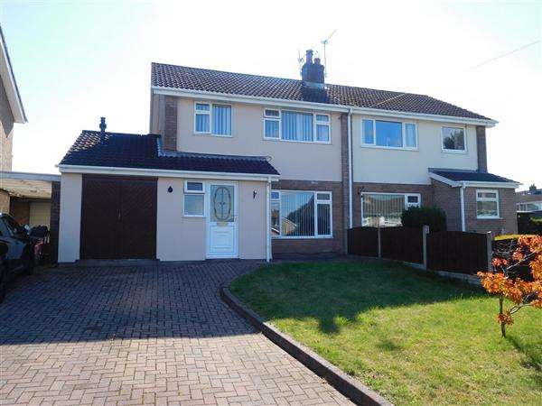 3 Bedrooms Semi Detached House for sale in Goldfinch Close, Caldicot