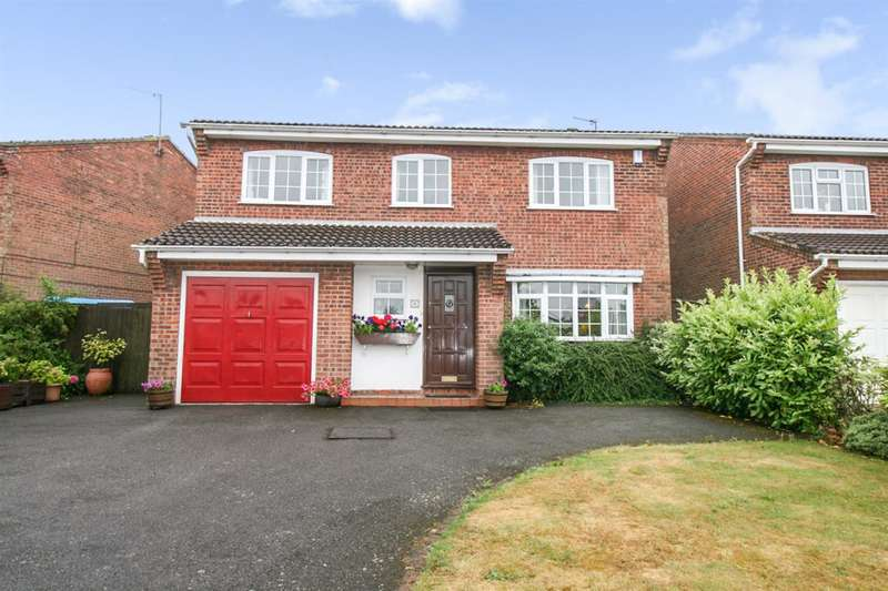 5 Bedrooms Detached House for sale in Meadow Way, Groby, Leicester