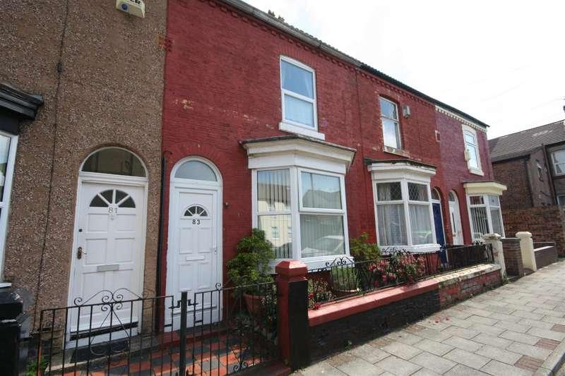 2 Bedrooms Terraced House for sale in Patten Street, Birkenhead, CH41 8DQ