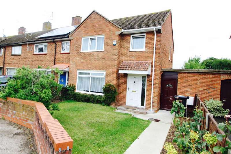 3 Bedrooms End Of Terrace House for sale in Queen Elizabeth Way, Colchester