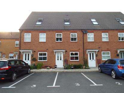 3 Bedrooms Terraced House for sale in Yarnmakers Path, Keresley End, Coventry, Warwickshire