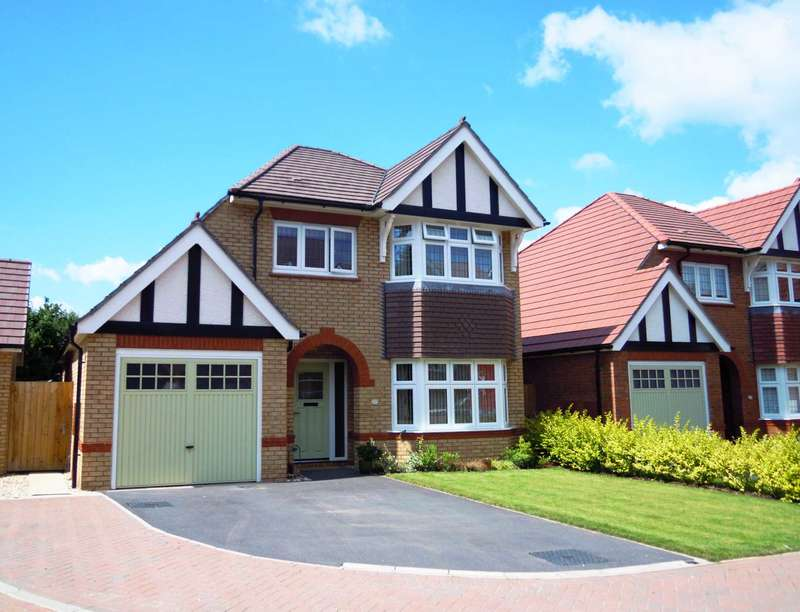 3 Bedrooms Detached House for sale in Camomile Way, Newton Abbot