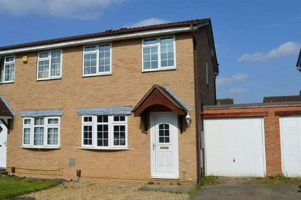 2 Bedrooms Semi Detached House for sale in Wilford Avenue, Wakes Meadow, Northampton NN3 9UQ