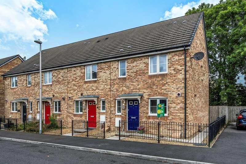 3 Bedrooms End Of Terrace House for sale in Gelli Rhedyn, Fforestfach, Swansea