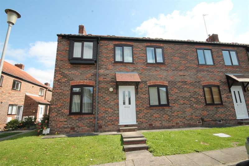 2 Bedrooms Ground Flat for sale in Westerdale Court, York, YO30 6BE