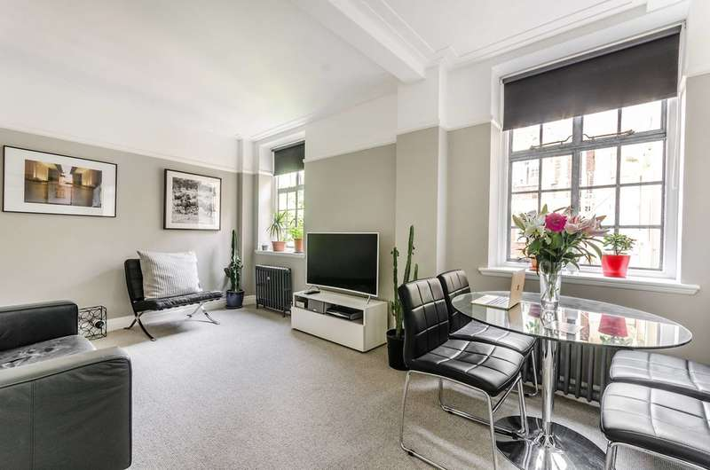 1 Bedroom Flat for sale in Coram Street, Bloomsbury, WC1N