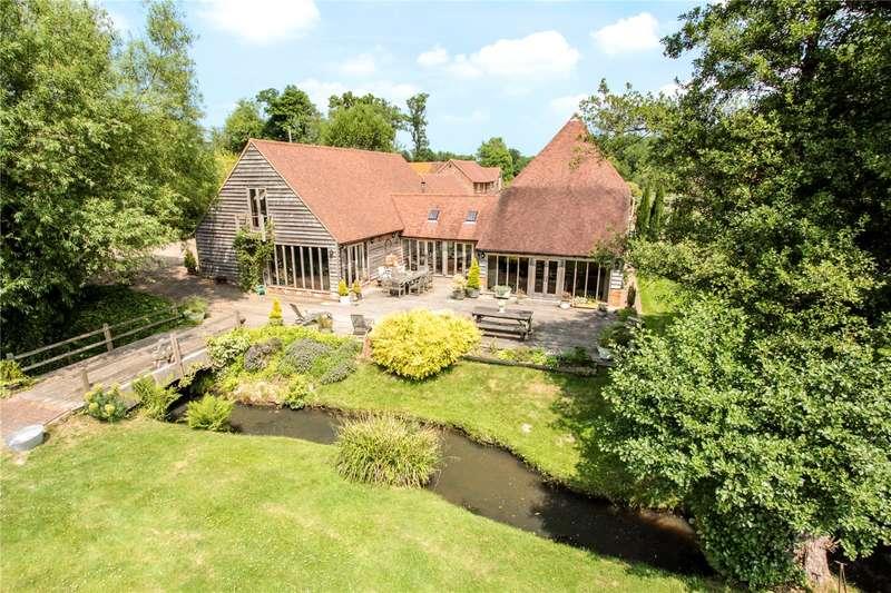 4 Bedrooms Detached House for sale in Yew Tree Green Road, Horsmonden, Tonbridge, Kent, TN12