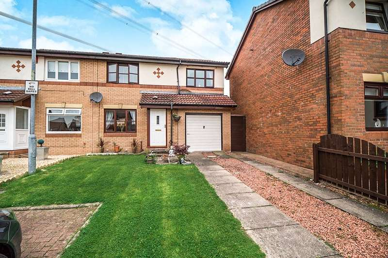 3 Bedrooms Semi Detached House for sale in Airth Way, Blackwood, Cumbernauld, G68