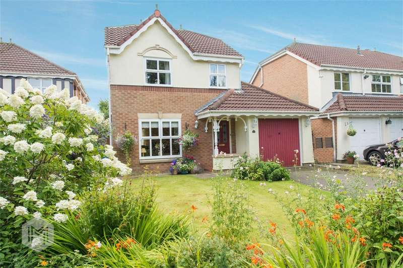 3 Bedrooms Detached House for sale in Smallbridge Close, Worsley, Manchester