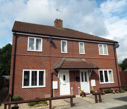 2 Bedrooms Semi Detached House for sale in Wincanton, Somerset