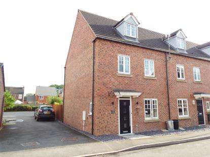 4 Bedrooms Semi Detached House for sale in Attenborough Close, Wigston, Leicestershire