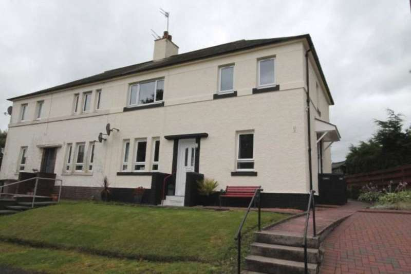 2 Bedrooms Flat for sale in The Grove, Kilbarchan