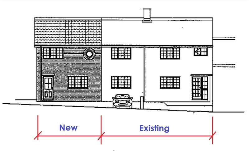 Plot Commercial for sale in DEVELOPMENT PLOT - 3 BED TO SIDE OF EXISTING 4 BED HOUSE, HP3