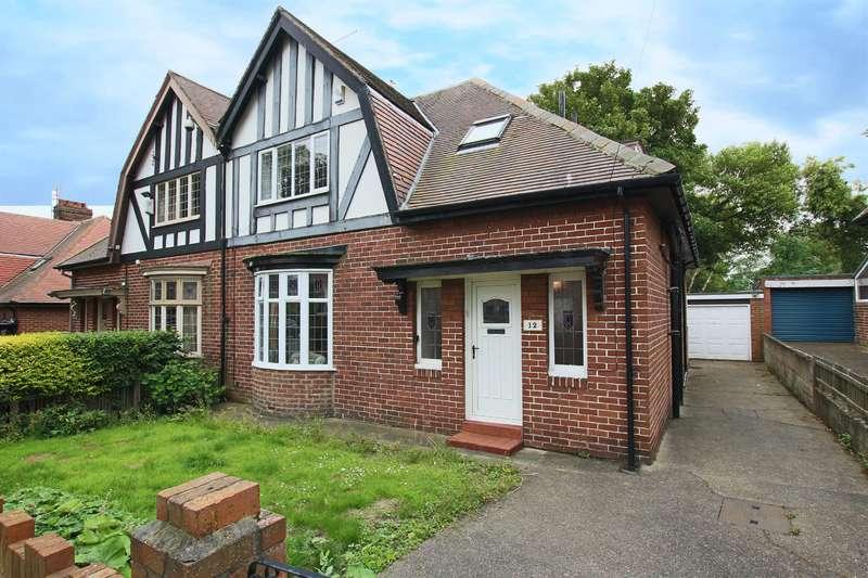 3 Bedrooms Semi Detached House for sale in Grange Park Avenue, Fulwell, Sunderland, SR5 1NS