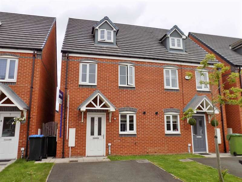 3 Bedrooms Semi Detached House for sale in Turnbull Way, Scholars Rise, Middlesbrough, TS4 3RS