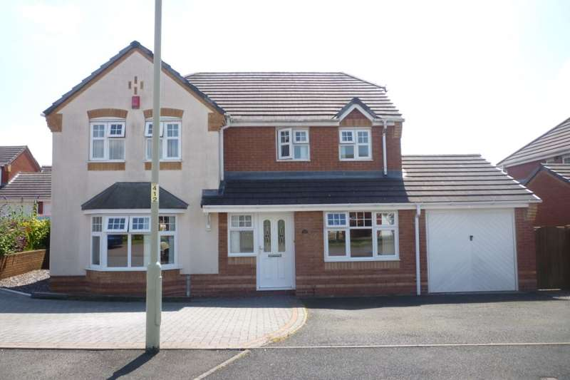 4 Bedrooms Detached House for sale in Eltham Drive, Priorslee, Telford, TF2