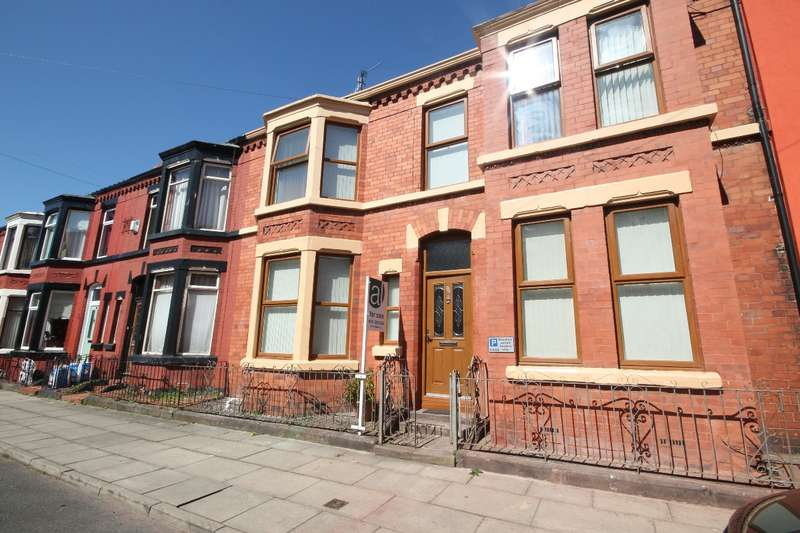 2 Bedrooms Terraced House for sale in Ashbourne Road, Aigburth, L17