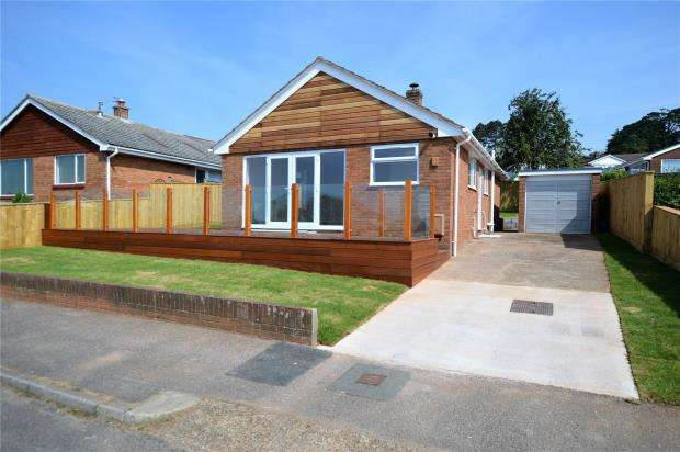 2 Bedrooms Detached Bungalow for sale in Marions Way, Exmouth, Devon
