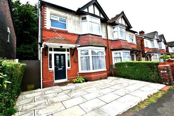 3 Bedrooms Semi Detached House for sale in Albert Ave, Prestwich
