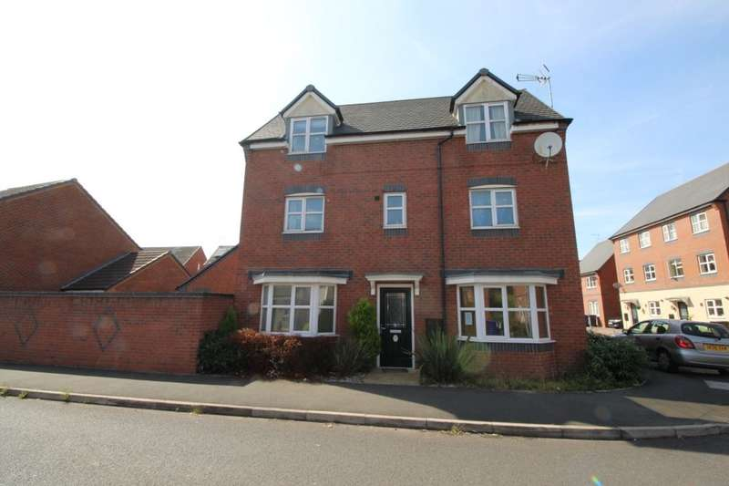 4 Bedrooms Detached House for sale in Hevea Road, Burton-On-Trent, DE13