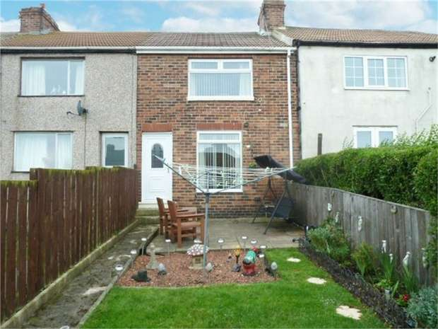 2 Bedrooms Terraced House for sale in Raby Avenue, Easington Village, Peterlee, Durham