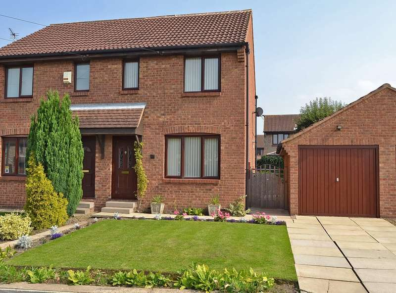 2 Bedrooms Semi Detached House for sale in Kenton Drive, Durkar, Wakefield