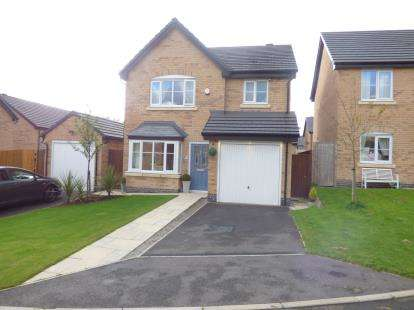 3 Bedrooms Detached House for sale in Millbank Crescent, Burnley, Lancashire
