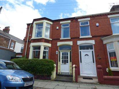 3 Bedrooms End Of Terrace House for sale in Trentham Avenue, Liverpool, Merseyside, L18
