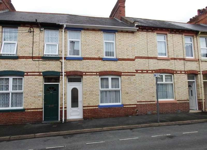 2 Bedrooms Terraced House for sale in Charles Street, Barnstaple