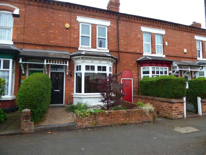 3 Bedrooms Terraced House for sale in Grosvenor Road, Harborne, Birmingham, B17 9AN