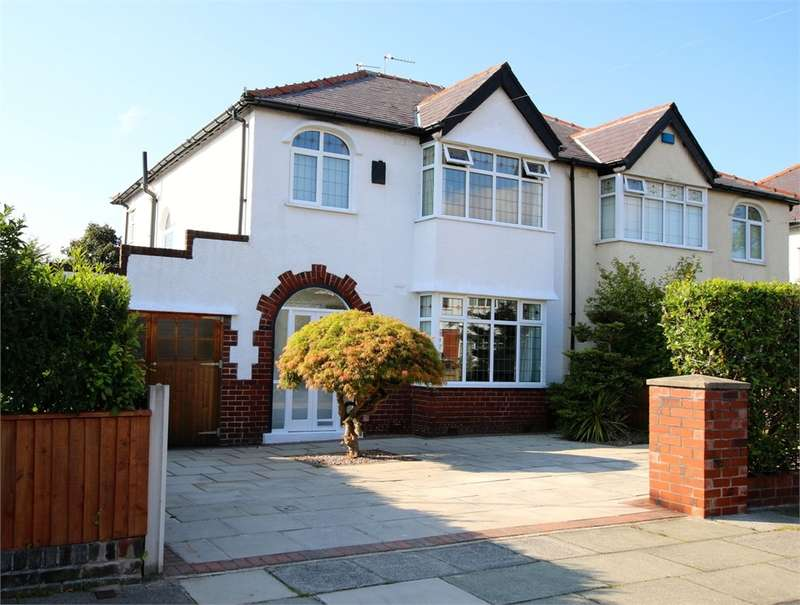 3 Bedrooms Semi Detached House for sale in Hillcrest Road, Crosby, LIVERPOOL, Merseyside