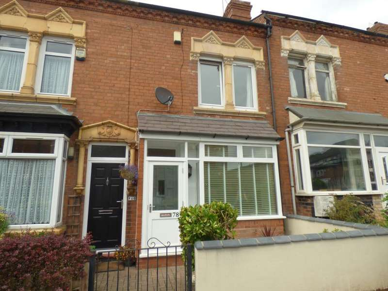 2 Bedrooms Terraced House for sale in Victoria Road, Harborne, Birmingham, B17 0AE