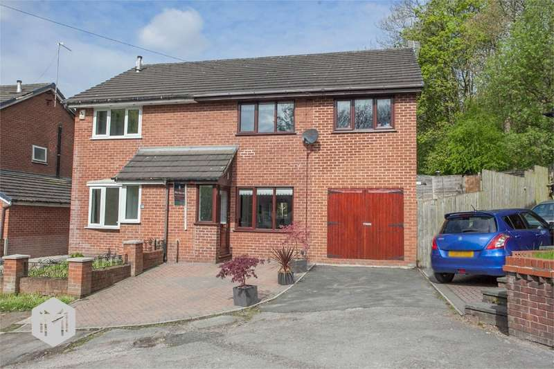 4 Bedrooms Semi Detached House for sale in Riverside Drive, Radcliffe, Manchester, M26