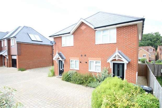 2 Bedrooms Semi Detached House for sale in Hannah Gardens, Aldershot Road, GUILDFORD, Surrey