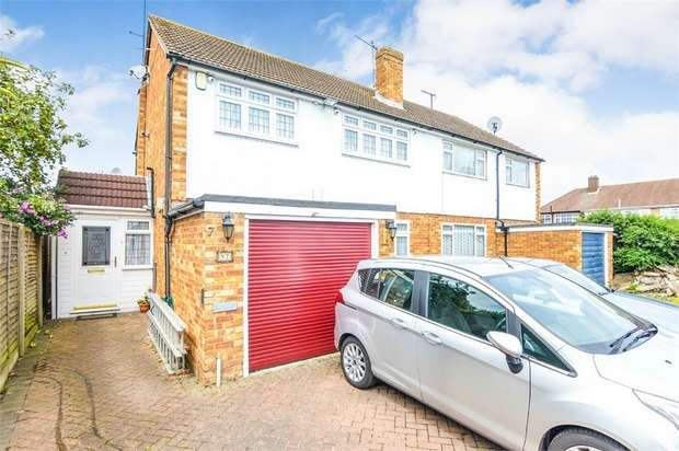 3 Bedrooms Semi Detached House for sale in Oldfield Drive, Cheshunt, Hertfordshire