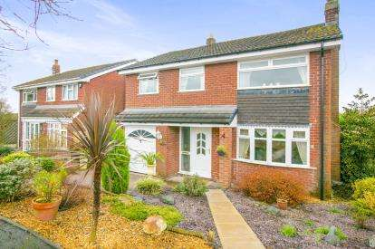 4 Bedrooms Detached House for sale in Shores Green Drive, Wincham, Northwich, Cheshire