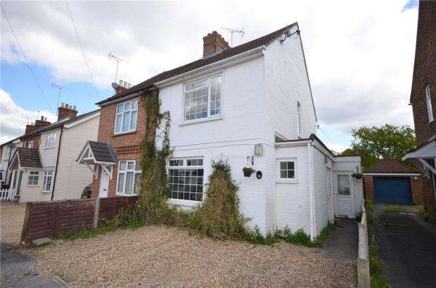 3 Bedrooms Semi Detached House for sale in Grove Road, Church Crookham, Fleet