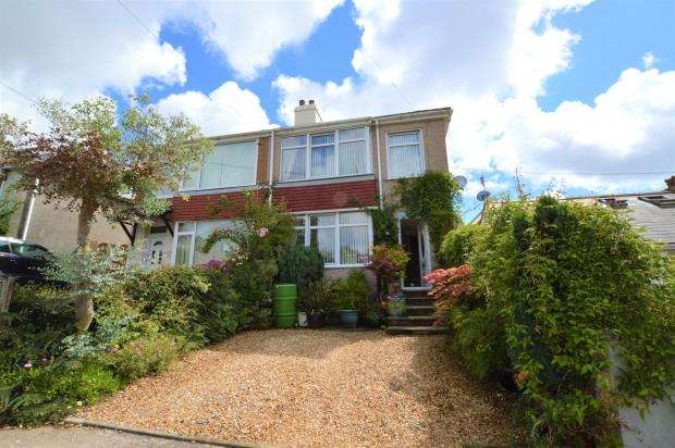 3 Bedrooms Semi Detached House for sale in Lansdowne Road, Plymouth, Devon