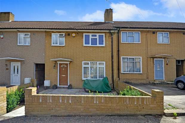 3 Bedrooms Terraced House for sale in Martin Drive, NORTHOLT, Middlesex