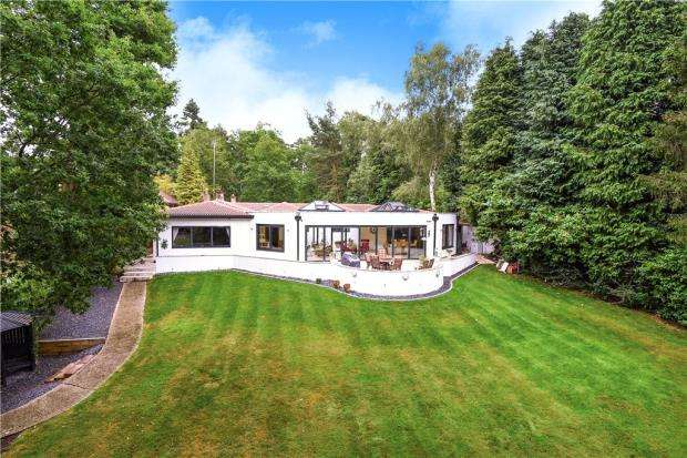 5 Bedrooms Detached Bungalow for sale in Hollybush Ride, Finchampstead, Wokingham