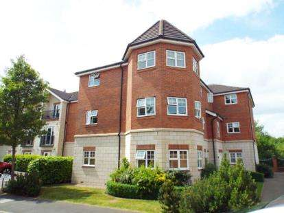 2 Bedrooms Flat for sale in The Rowans, Sandbach Drive, Northwich, Cheshire